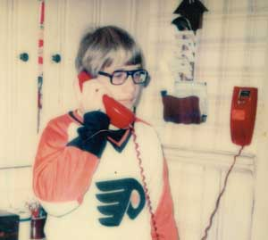 Dave Crabill calling players in 1977