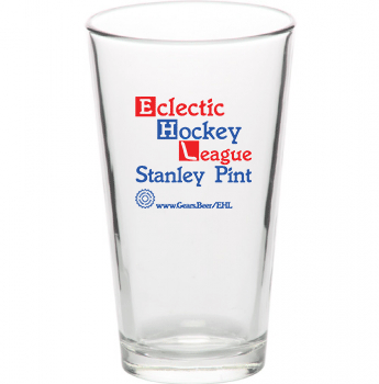 stanley pint beer glass trophy EHL