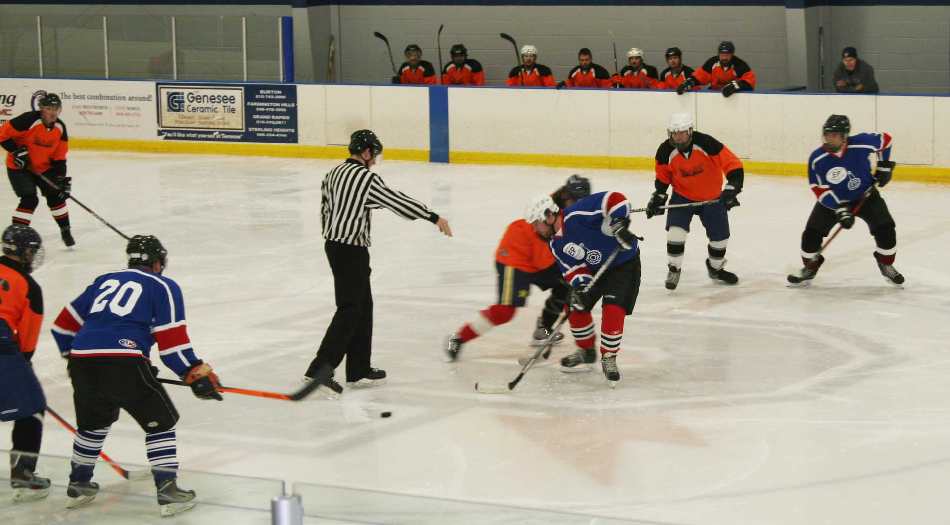 Flint Area Ice Hockey League Play