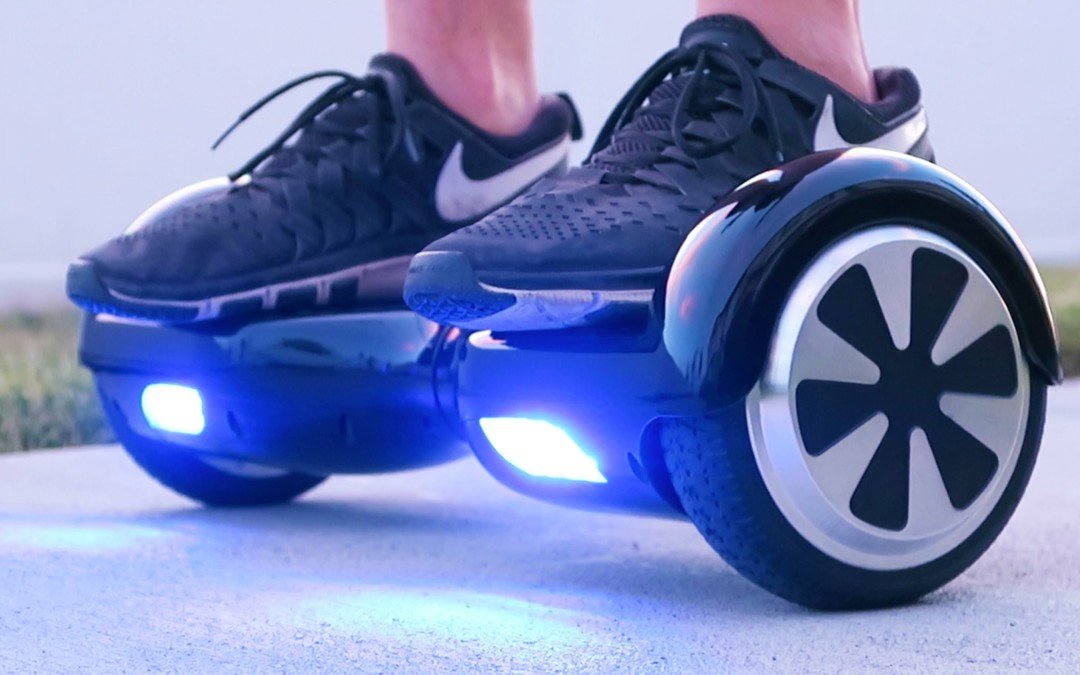 Hoverboards In Action