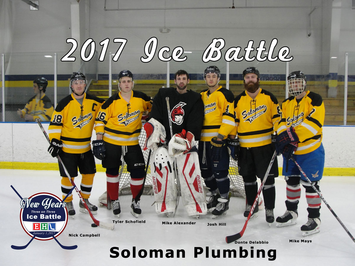 2017 Ice Battle Soloman Plumbing